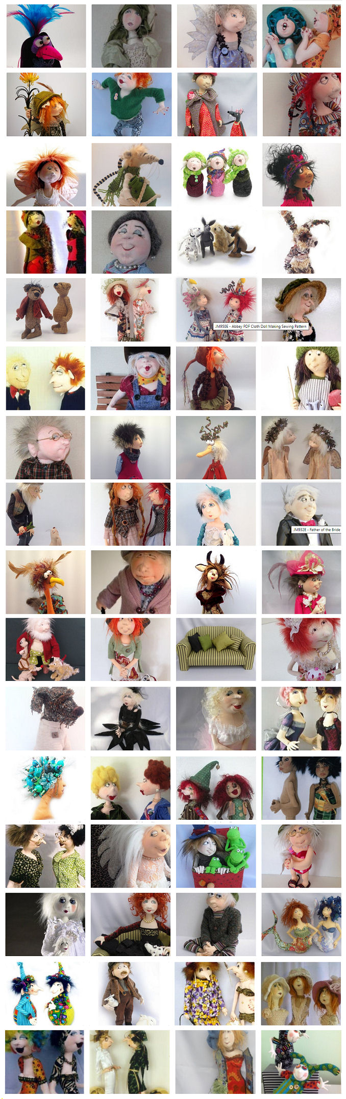Cloth Doll Designs by Jill Maas