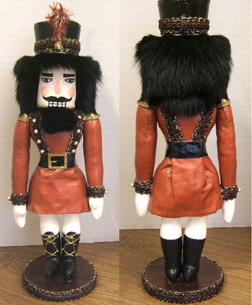Nutcracker - Free Doll Pattern