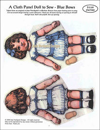 Jean Nordquist's Panel Cloth Dolls