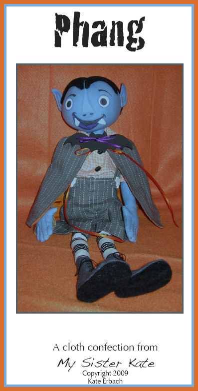Free Cloth Doll Pattern - Project by Kate Erbach - Phang