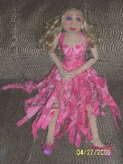 Doll for all Seasons Mermaid Patter