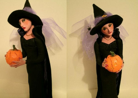 Witch pattern by from Arley Berryhill.