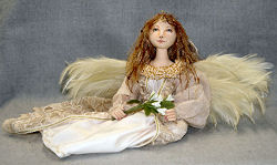 Seated Angel Cloth Doll Pattern