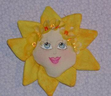Sunny Sue - Free Cloth Pin Doll Pattern and Project