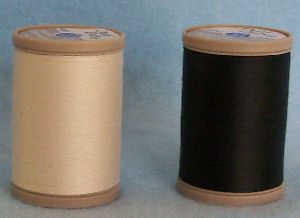 Button and Carpet Thread